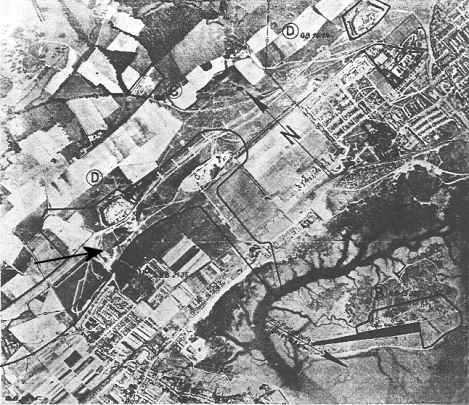 German Bombing Map