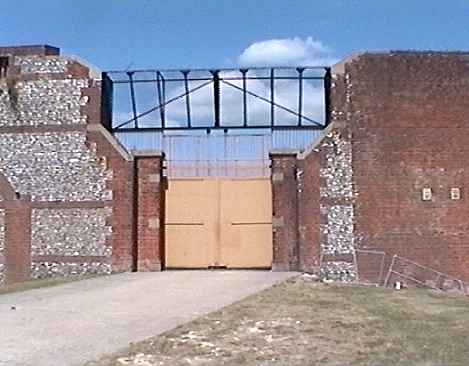 Fort Nelson west gate