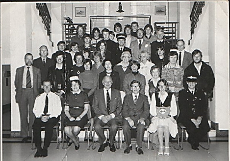 ASWE first aid team 1980