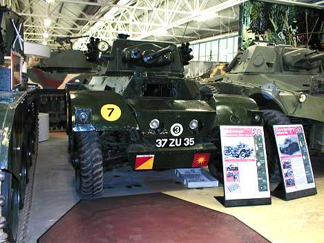 Daimler at Bovington