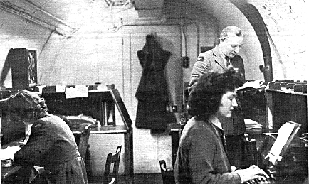 RAF teleprinter room