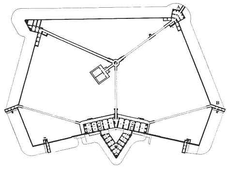 Plan of Fort purbrook