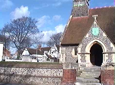 wymering church and manor