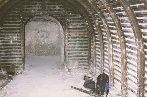 chamber No2 looking towards the escape tunnel